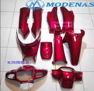 Modenas Kriss 2(Disc) Cover Set Candy Red