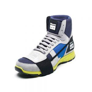 Blauer Sneaker HT01 Blue Cyan