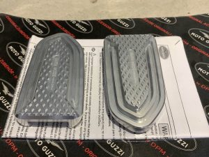 Moto Guzzi Footpeg Cover Set for V7 and V9