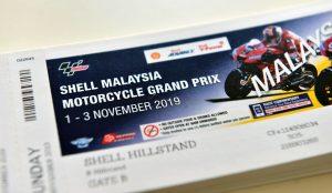 Shell Malaysia MotoGP Tickets 2019