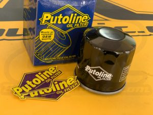PUTOLINE HF204 Synthetic Oil Filter for Honda, Kawasaki, MV, Triumph, Yamaha