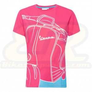 VESPA 70 Years Young T-Shirt (Ladies)